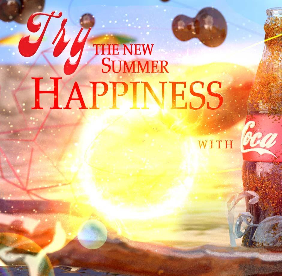 Coca Cola Happiness