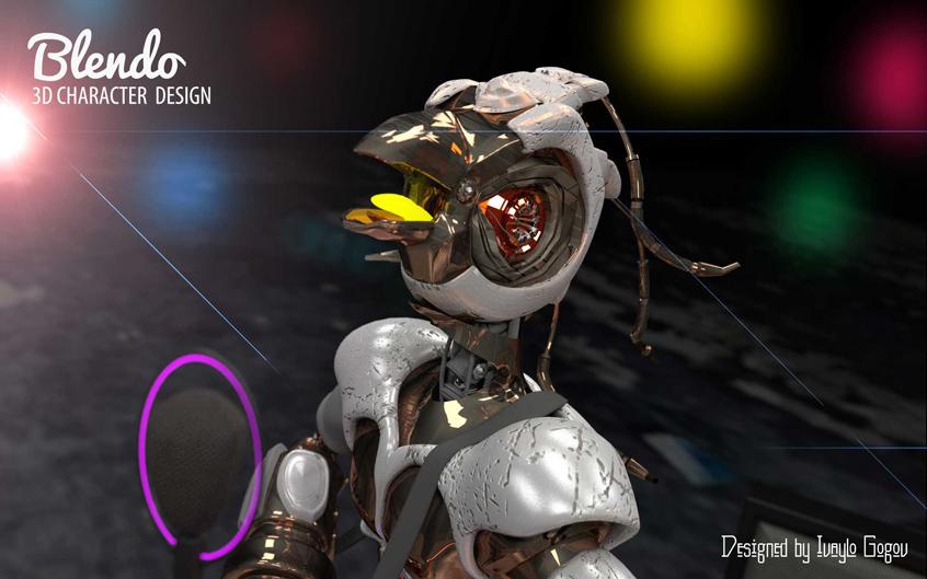 3D Character - Blendo