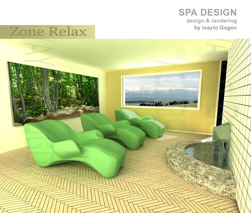 Spa Design - Organic Spa Chair